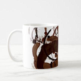 caffeinated mess coffee mug