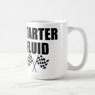Caffeinated Starter Fluid Coffee Mug