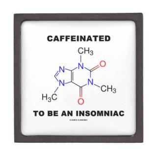Caffeinated To Be An Insomniac (Caffeine Molecule) Gift Box