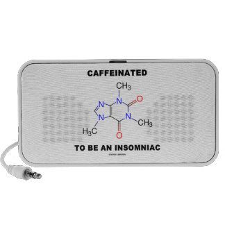 Caffeinated To Be An Insomniac (Caffeine Molecule) Speaker System