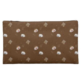 Caffeinated World Cosmetic Bag