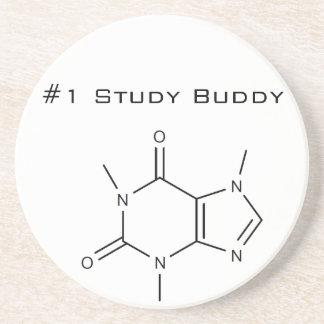 Caffeine #1 Study Buddy Drink Coaster
