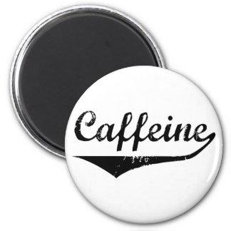 Caffeine 2 Inch Round Magnet