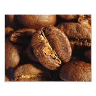 Caffeine 4.25x5.5 Paper Invitation Card
