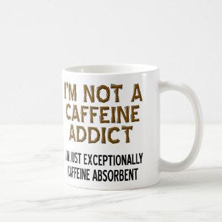 Caffeine Absorbent Funny Coffee Mug or Travel Mug