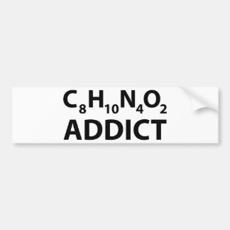 Caffeine Addict Bumper Stickers