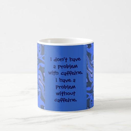 caffeine addict humor classic white coffee mug