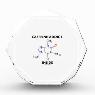 Caffeine Addict Inside (Caffeine Molecule) Award