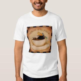 Caffeine addict tee shirt