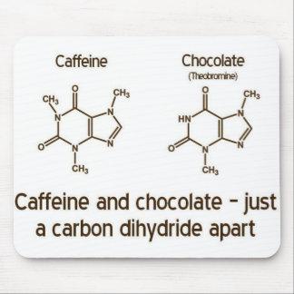 Caffeine and Chocolate Mousepad