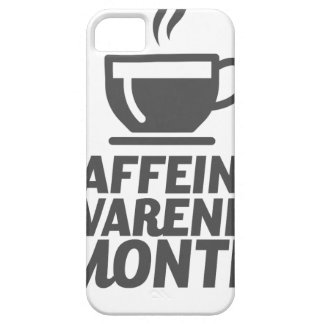 Caffeine Awareness Month March - Appreciation Day iPhone SE/5/5s Case