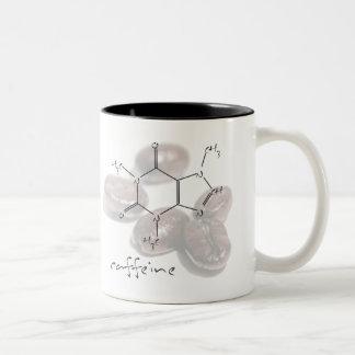 Caffeine beans coffee mug