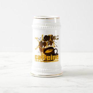 Caffeine Beer Stein