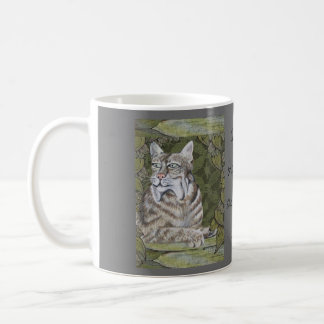 Caffeine Brings Out the Wildcat in Me! Coffee Mug