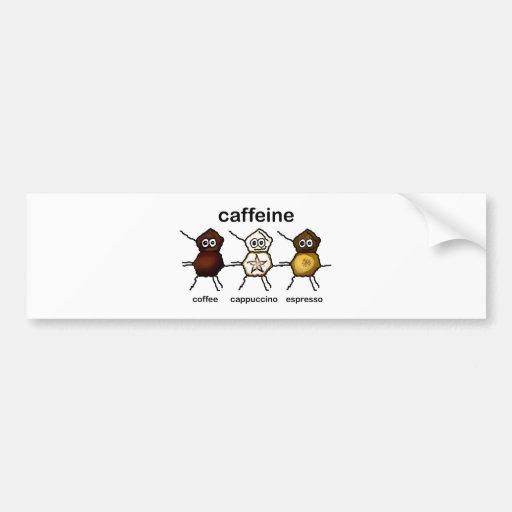 Caffeine Bumper Stickers