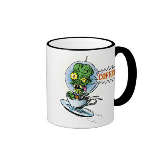 Caffeine Case From Outer Space Coffee Mugs