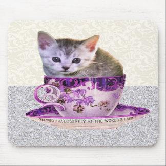 caffeine cat mousepad