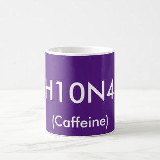 Caffeine Chemical Symbol Mug