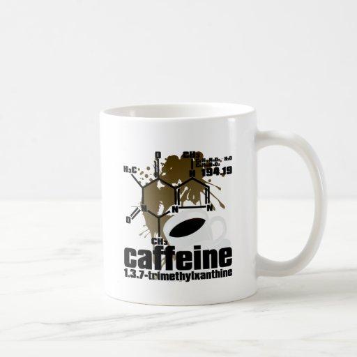Caffeine Classic White Coffee Mug