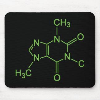 Caffeine Coffee Molecule Mouse Pad