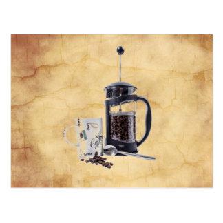 Caffeine Craving Postcard