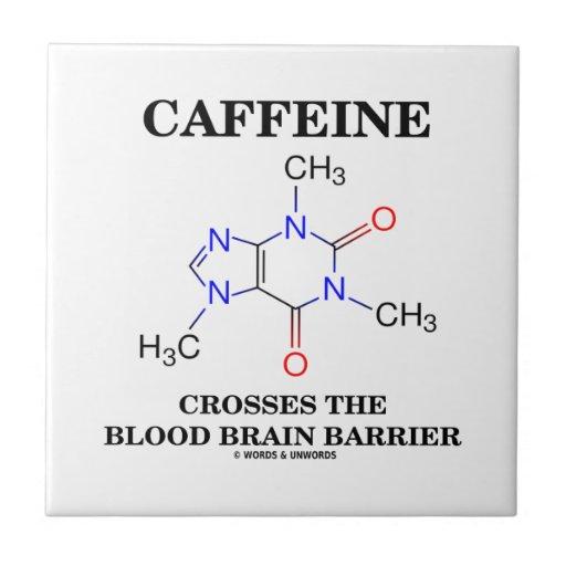 Caffeine Crosses The Blood Brain Barrier Tiles