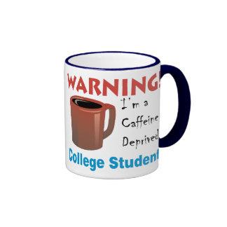 Caffeine Deprived Student Coffee Mug