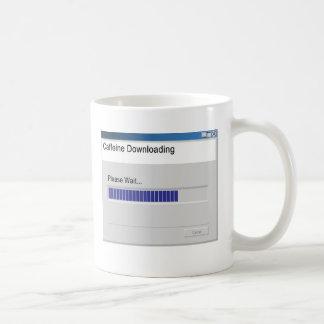 """""""Caffeine Downloading"""" Mug"""
