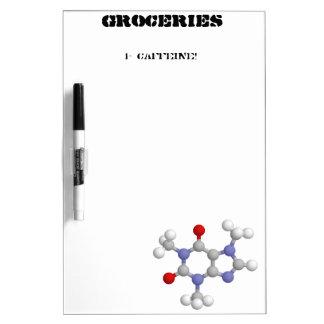 Caffeine Dry Erase Whiteboards