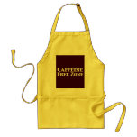 Caffeine Free Zone Gifts Aprons