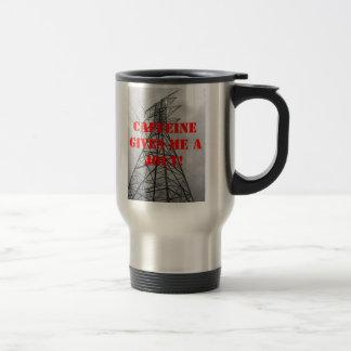 Caffeine Gives Me a Jolt Coffee Mugs