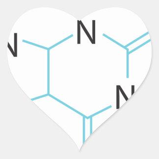 Caffeine Heart Sticker