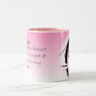 Caffeine Hit Two-Tone Coffee Mug