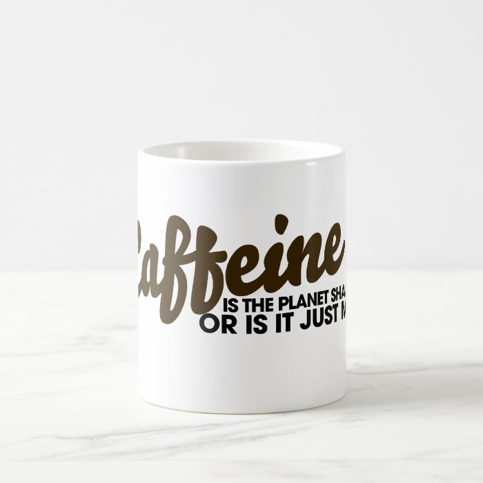 Caffeine Humour Coffee Mug