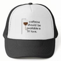 caffeine in IV, nurse humor Trucker Hat