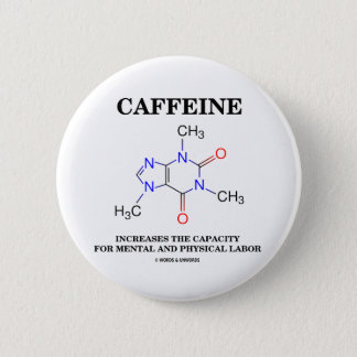 Caffeine Increases Capacity Mental Physical Labor Button