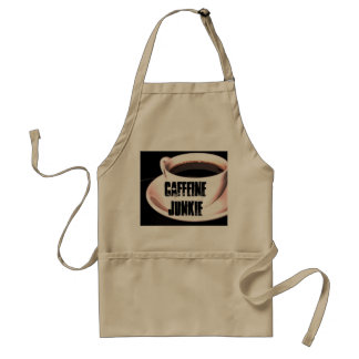 Caffeine Junkie Coffee Barista Apron