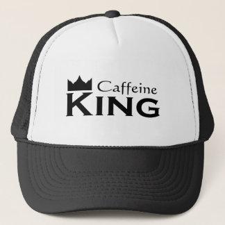 Caffeine King Trucker Hat