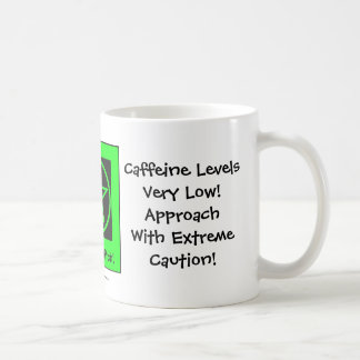 Caffeine Levels Low! Cheeky Witch Coffee Cup/Mug Coffee Mug