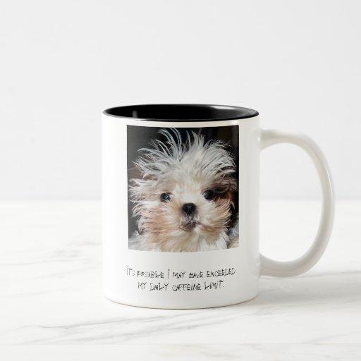 Caffeine Limit Coffee Cup