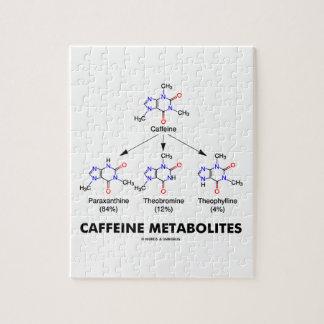 Caffeine Metabolites (Caffeine Molecule Chemistry) Jigsaw Puzzle