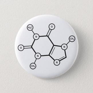 caffeine molecular structure button