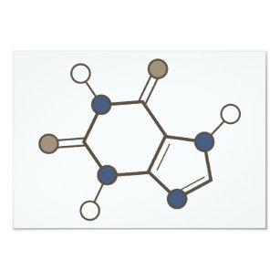 Coffee day invitations announcements zazzle caffeine molecular structure invitation stopboris Images