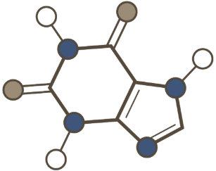 Structures invitations zazzle caffeine molecular structure invitation stopboris Image collections