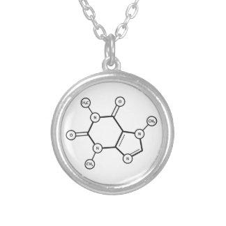 caffeine molecular structure pendant