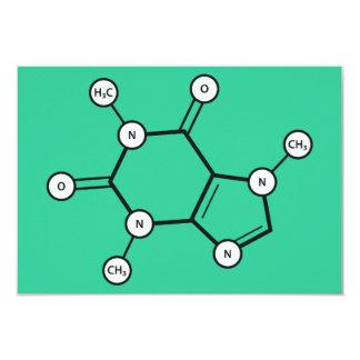 caffeine molecule card