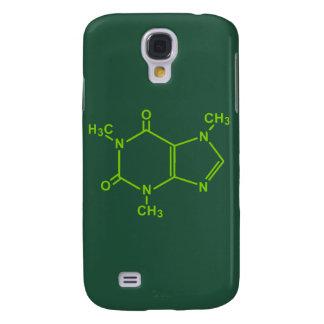 Caffeine Molecule Samsung Galaxy S4 Case