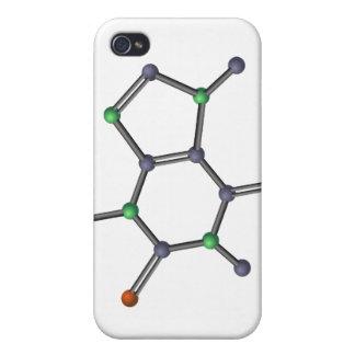 Caffeine molecule iPhone 4 case