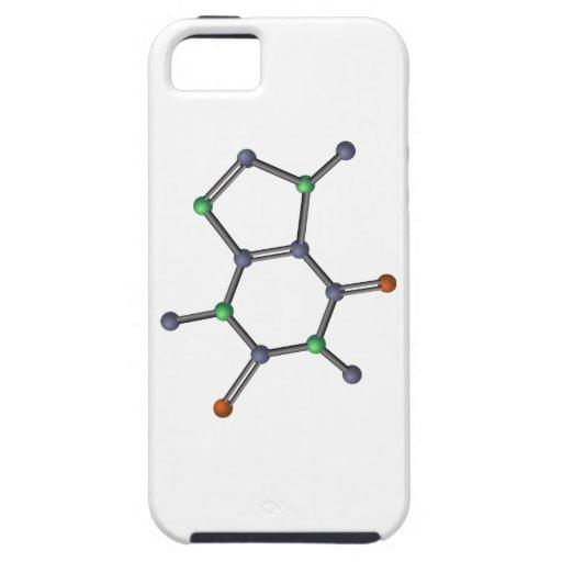 Caffeine molecule iPhone SE/5/5s case
