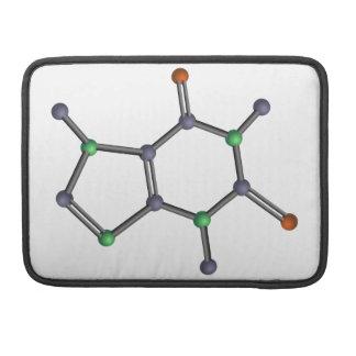 Caffeine molecule sleeves for MacBooks